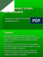 Manajemen Linen Manajemen Linen Rumahsak