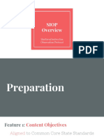 2  siop overview