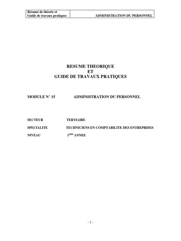 health administration resume