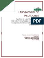 Practica 1 Laboratorio de Mediciones