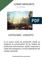 capitalismo mercantil
