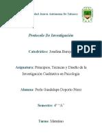 Avance de Protocolo Cualitativa