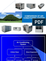 Comparison of Air Conditioning System (1)
