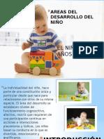Areas Del Desarrollo Del Niño