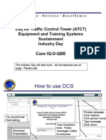 Iraq Air Traffic Control Tower (ATCT) Equipment and Training Systems Sustainment Industry Day