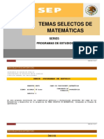 Temas Selectos de Matematicas Cobao