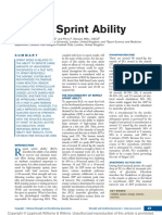 Repeat Sprint Ability