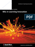 MSc in Learning Innovation