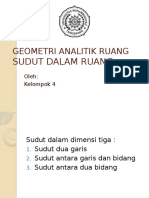 Geometri Analitik Ruang (3)