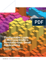 Configurable Logic in Microcontrollers Revolutionizes Small Applications