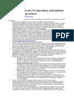 10 Keys Collaborative Practices