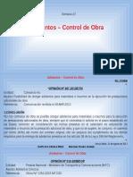 Clase 07 - Adelantos-Control de Obra