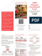 IFMR FImpact Investment Fund Brochure