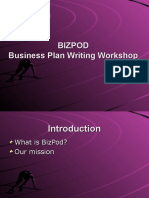 BizPod Business Plan Workshop