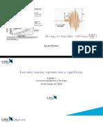 Funciones Inversas Exponenciales y Logaritmicas
