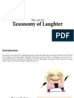 Art of... The Taxonomy of Laughter.