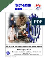 MELJUN CORTES Tesda Tr Training Regulations Bookkeeping Nc III Updated Edited