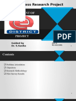 Assessment of Edistrict Project