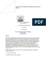Tips and Trik Mudah-Skoring Evaluasi Di PPT