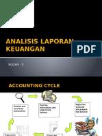 Pertemuan 5 - Analisa Laporan Keuangan