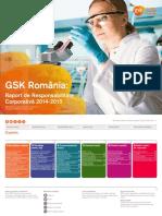 GSK Romania - Raport de Responsabilitate Corporativa 2014-2015
