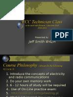 Technician Class 2014