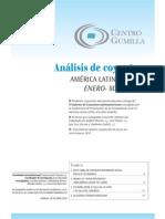 Analisis de coyuntura América Latina y el Caribe