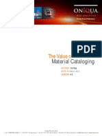 Value of Materials Cataloging v4.0