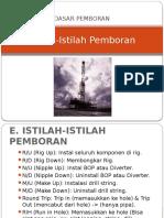 5. Dasar Pemboran - Istilah-Istilah.pptx