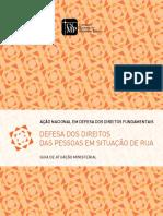 Defesa dos Direitos das Pessoas em Situação de Rua - Guia de Atuação Ministerial (2015)
