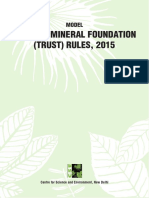 Model DMF Trust Rules