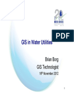 01 Mr Brian Borg - GIS in Water Utilities 0