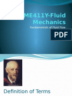 Fluid Mechanic-Fundamentals of Fluid Flow