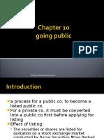 Ch5b Going Public