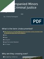 cjc 101 pres- unaccompanied minors