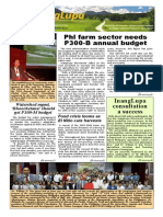 inanglupa newsletter  april issue