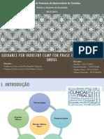 CGMP - Medicamentos experimentais fase 1 .pdf
