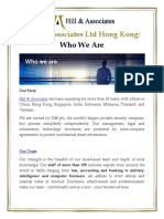Hill & Associates Ltd Hong Kong