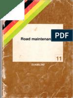 #11 Road Maintenance