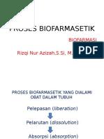2. Proses biofarmasetik