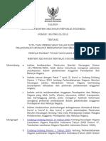 Tata Cara Pembayaran Dalan Pelaksanaan APBN PA,KPA,PPSPM, PPK