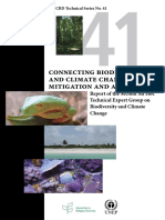 Biodiversity and Climate Change Mitigation and Adaptation