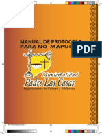 Manual de Protocolo Para No MAPUCHE