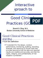 Interactive GCP Workshop 9-19-07