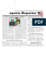 May 4 - 10, 2016  Sports Reporter