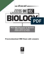 9781741254679 Excel Success One HSC Biology SAMPLE 2014