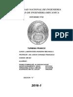 Informe Turb. Francis