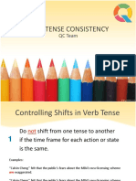 Basic Rules in Achieving Verb-Tense Consistency