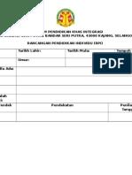 Contoh format RPI
