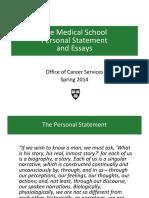 Graduate - Medicine - Personal Statement Workshop